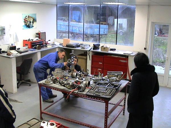 Agrandir - Atelier Moteur